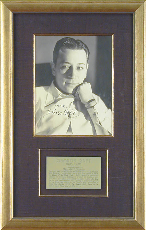 Image 1 for George Raft - Autographed Signed Photograph - HFSID 67477
