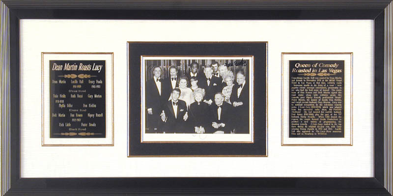 Image 1 for Lucille 'Lucy' Ball - Autographed Signed Photograph Circa 1974 with co-signers - HFSID 67727