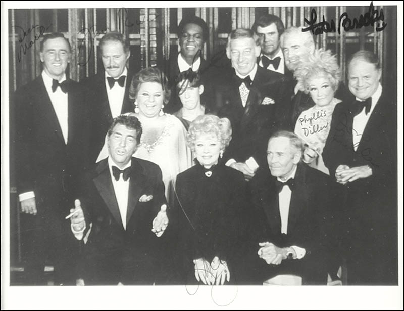 Image 3 for Lucille 'Lucy' Ball - Autographed Signed Photograph Circa 1974 with co-signers - HFSID 67727