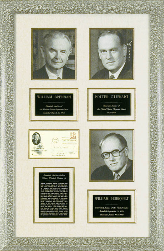 Image 1 for Chief Justice William H. Rehnquist - First Day Cover Signed 1980 with co-signers - HFSID 67929