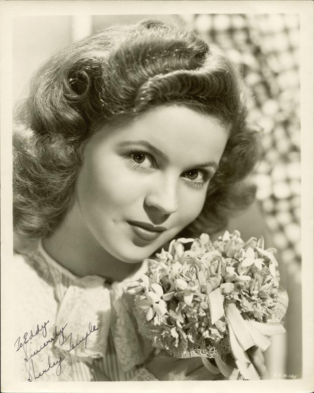 Image 1 for Shirley Temple - Autographed Inscribed Photograph - HFSID 70253