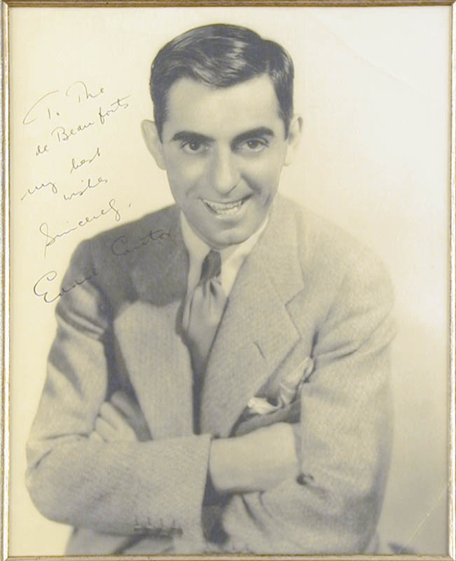 Image 3 for Eddie Cantor - Autographed Signed Photograph - HFSID 70278