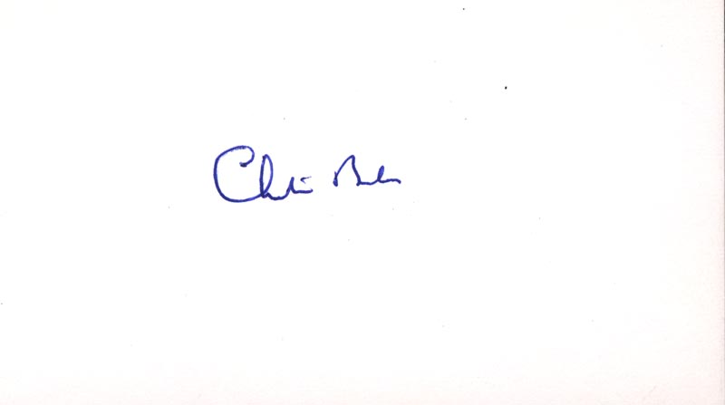 Image 1 for Chester Bowles - Autograph - HFSID 70432