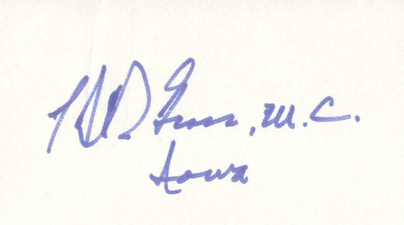Image 1 for H. R. Gross - Autograph - HFSID 70751