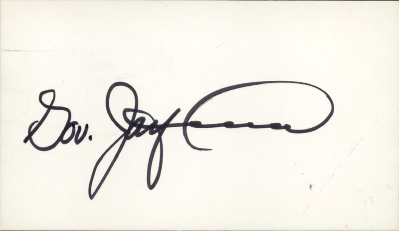 Image 1 for Jay S. Hammond - Autograph - HFSID 70814