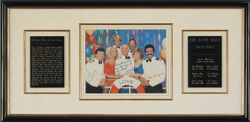Image 1 for The Love Boat TV Cast - Autographed Signed Photograph with co-signers - HFSID 71669