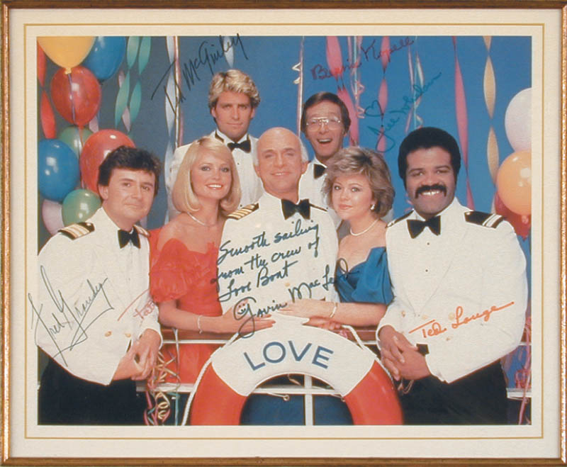 Image 3 for The Love Boat TV Cast - Autographed Signed Photograph with co-signers - HFSID 71669