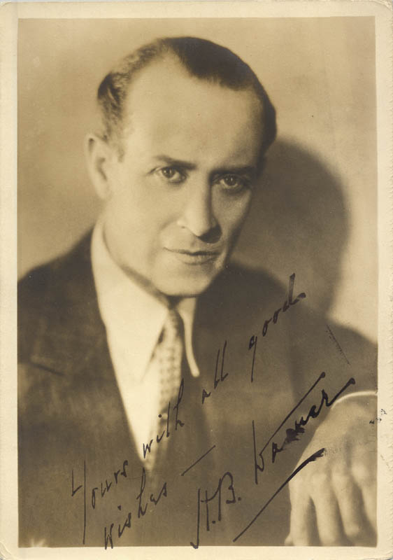 Image 1 for Henry Byron 'H. B.' Warner - Autographed Signed Photograph - HFSID 71727