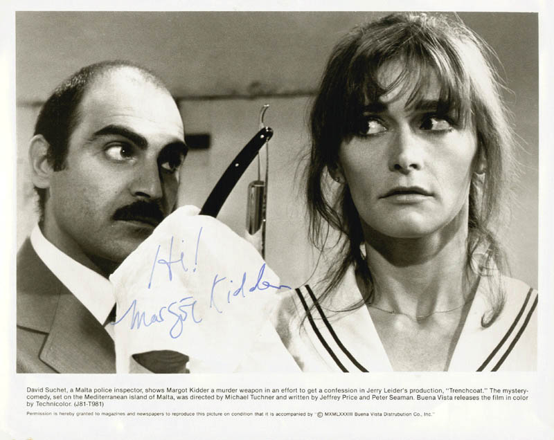 Image 1 for Margot Kidder - Autographed Signed Photograph - HFSID 71795