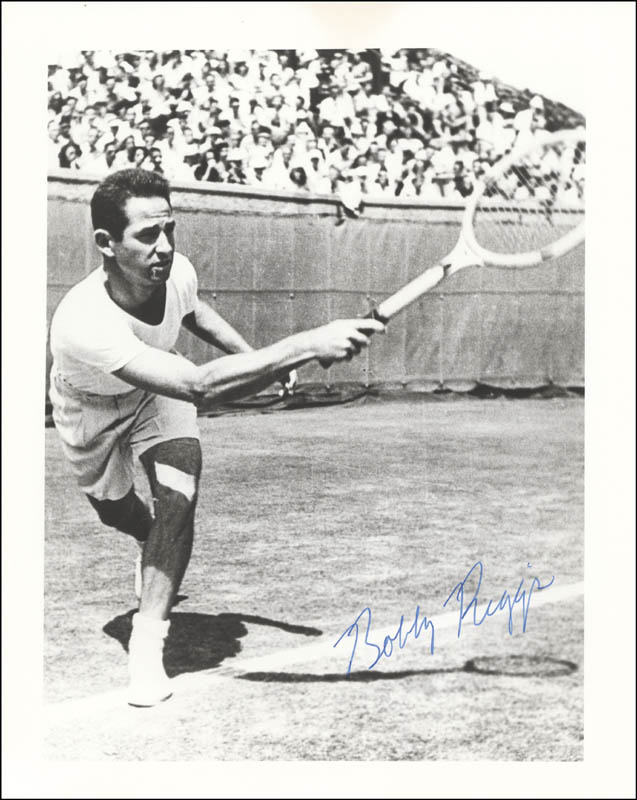Image 1 for Bobby Riggs - Autographed Signed Photograph - HFSID 72183