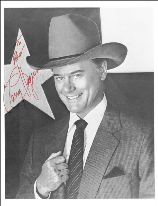 Image 1 for Larry Hagman - Autographed Inscribed Photograph - HFSID 72233