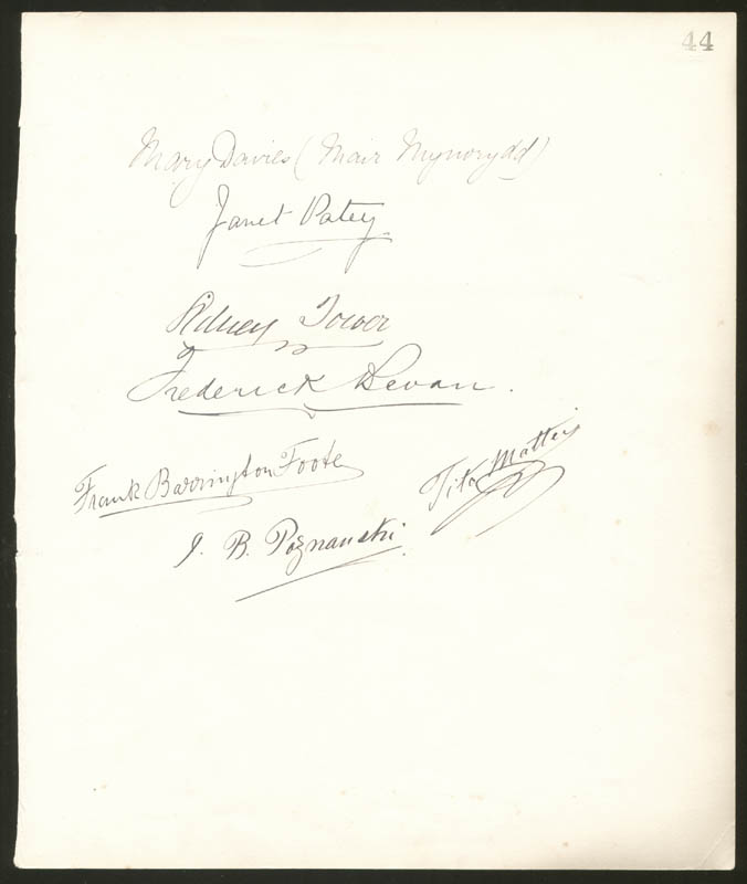 Image 4 for Henry M. Stanley - Autograph Quotation Signed 10/31/1886 with co-signers - HFSID 72283