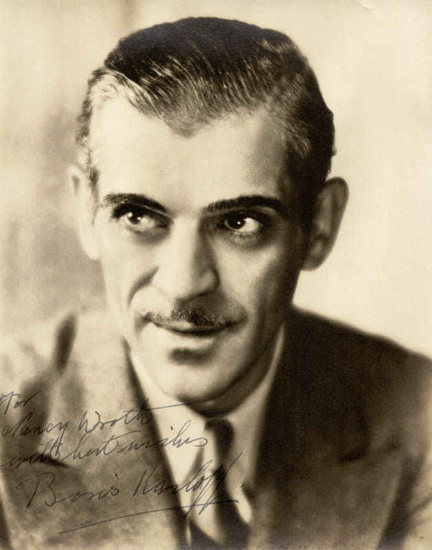 Image 1 for Boris Karloff - Autographed Inscribed Photograph - HFSID 72322
