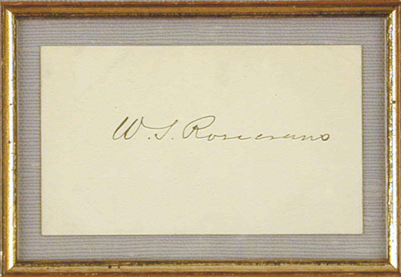 Image 3 for Major General William S. 'Old Rosy' Rosecrans - Autograph - HFSID 72593