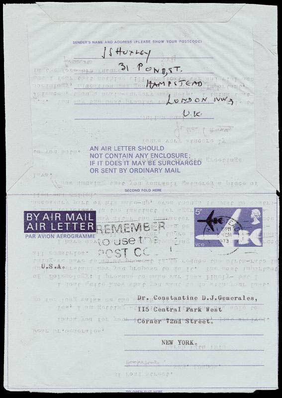 Image 3 for Sir Julian S. Huxley - Typed Letter Signed 03/12/1973 - HFSID 72758