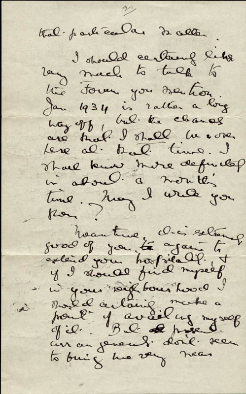 Image 4 for Sir Norman Angell - Autograph Letter Signed 11/16 - HFSID 72949