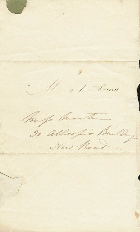 Image 3 for Jane Loudon - Autograph Letter Signed Circa 1829 - HFSID 73058