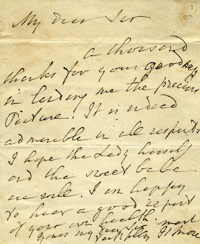 Image 1 for Hannah More - Autograph Letter Signed Circa 1811 - HFSID 73125
