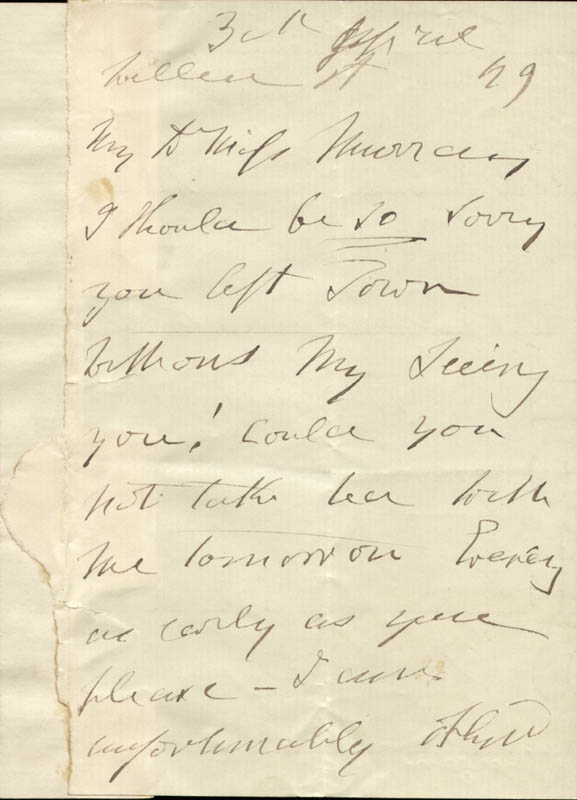 Image 3 for Sydney Morgan - Autograph Letter Signed 04/03/1849 - HFSID 73140