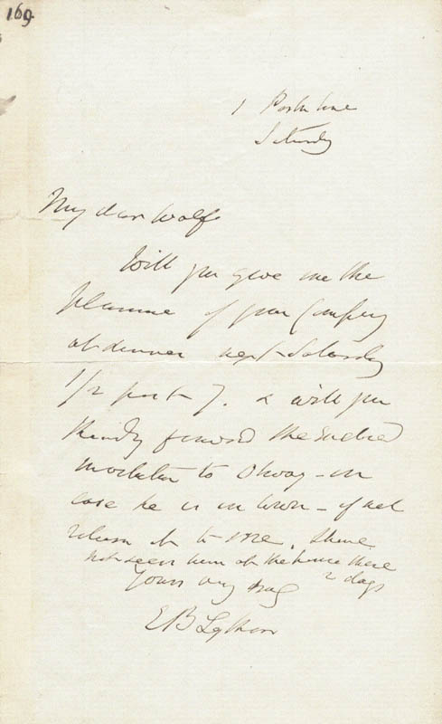 Image 1 for Edward (1st Baron Lytton) Bulwer-lytton - Autograph Letter Signed - HFSID 73331
