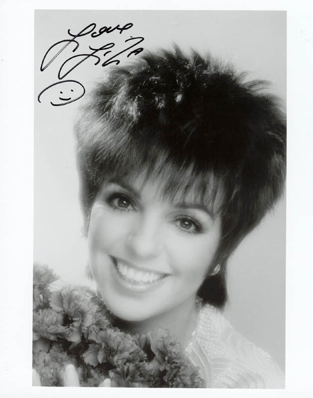Image 1 for Liza Minnelli - Autographed Signed Photograph - HFSID 73776