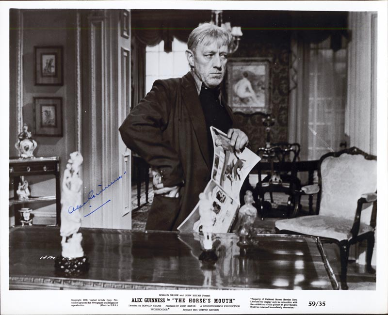 Image 1 for Sir Alec Guinness - Autographed Signed Photograph - HFSID 74165