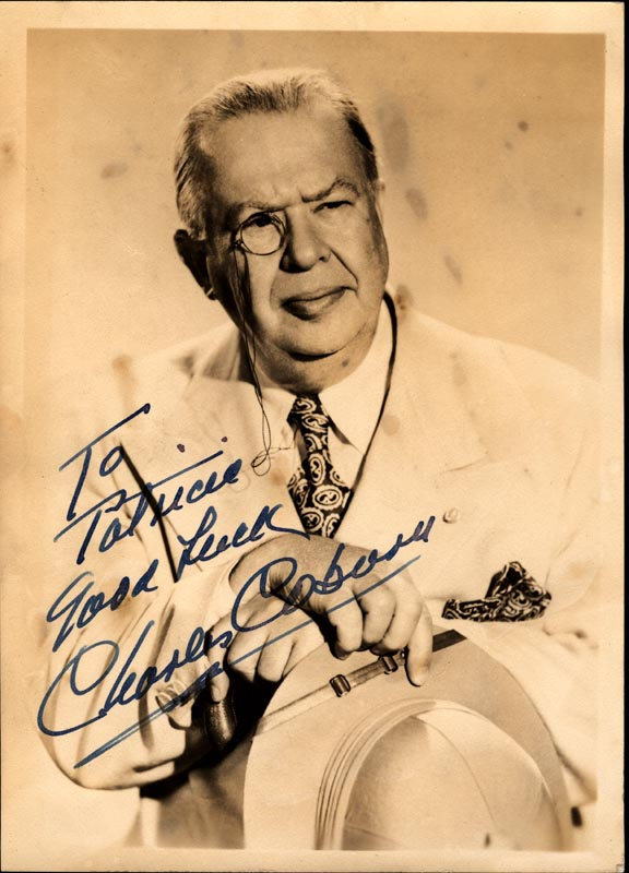 Image 1 for Charles D. Coburn - Autographed Inscribed Photograph - HFSID 74228
