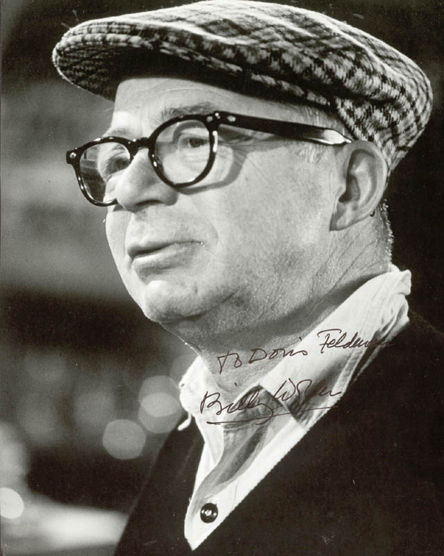 Image 1 for Billy Wilder - Autographed Inscribed Photograph - HFSID 74559