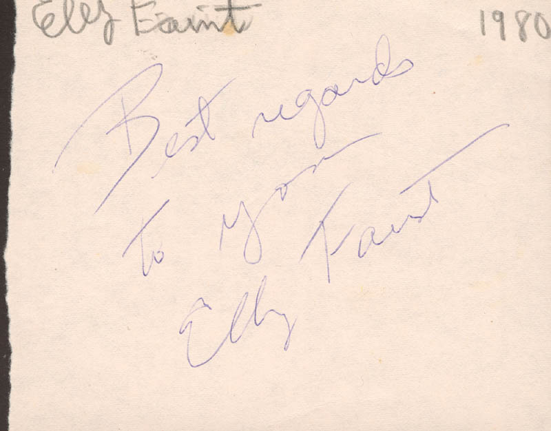 Image 3 for Tommy Tune - Autograph Sentiment Signed Circa 1980 - HFSID 74573