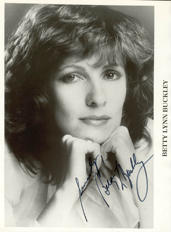 Image 1 for Betty Lynn Buckley - Autographed Signed Photograph - HFSID 74593