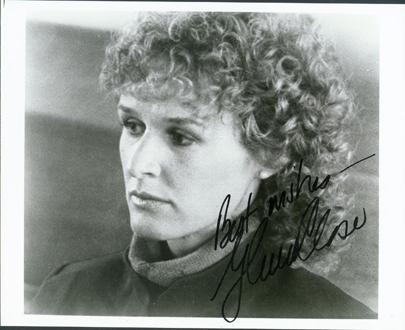 Image 1 for Glenn Close - Autographed Signed Photograph - HFSID 74667
