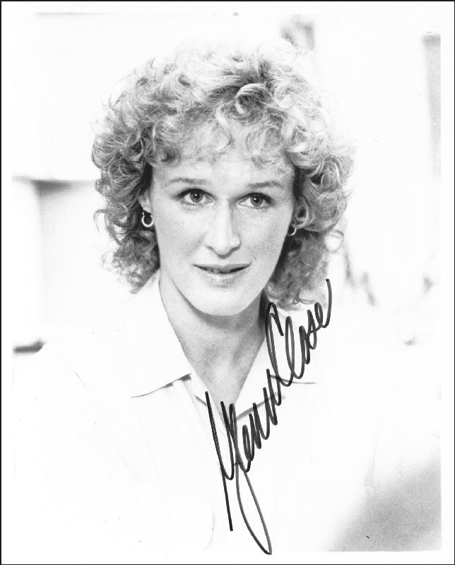 Image 1 for Glenn Close - Autographed Signed Photograph - HFSID 74668