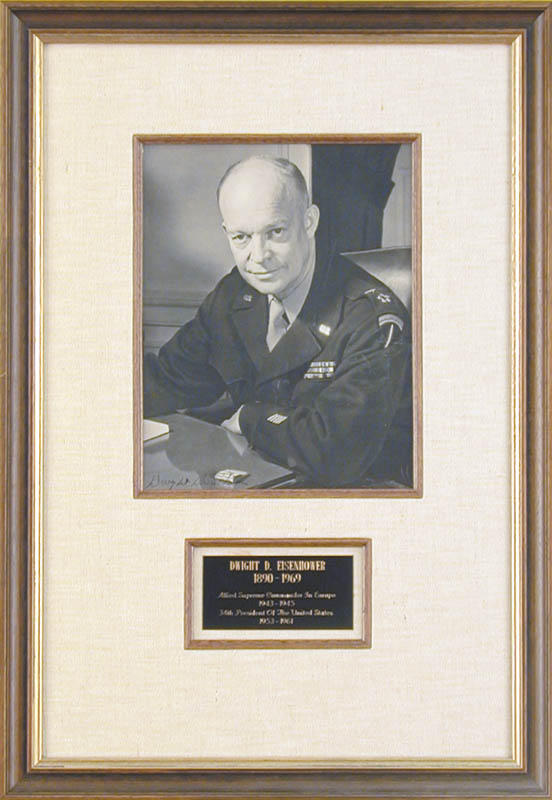 Image 1 for President Dwight D. Eisenhower - Autographed Signed Photograph - HFSID 74690