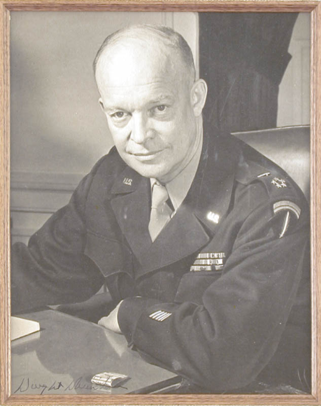 Image 3 for President Dwight D. Eisenhower - Autographed Signed Photograph - HFSID 74690