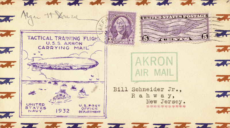 Image 1 for Alger Dresel - Commemorative Cover Signed - HFSID 74800