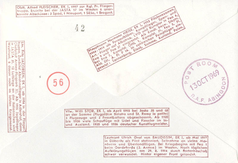 Image 3 for Fritz Jacobsen - Commemorative Envelope Signed with co-signers - HFSID 74859