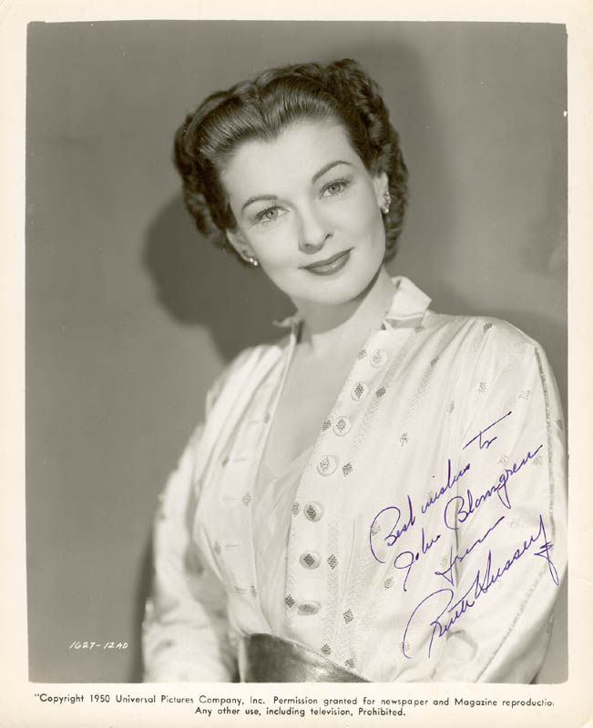 Image 1 for Ruth Hussey - Autographed Inscribed Photograph - HFSID 75129