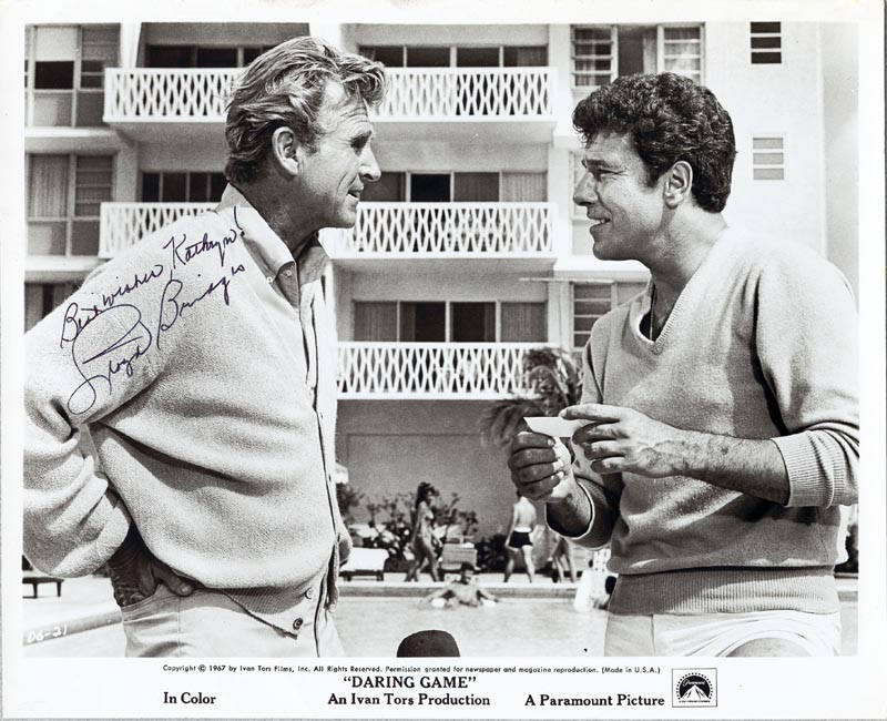Image 1 for Lloyd Bridges - Autographed Inscribed Photograph - HFSID 75171