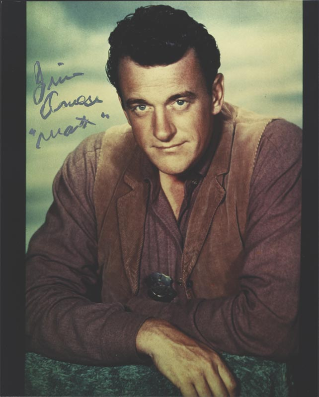 Image 1 for James Arness - Autographed Signed Photograph - HFSID 75187