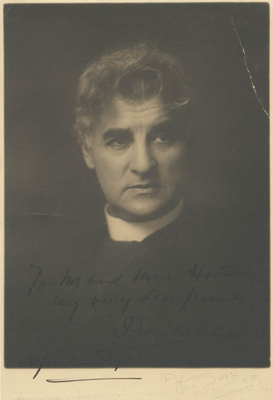 Image 1 for David Belasco - Autographed Inscribed Photograph 4/1913 - HFSID 75281