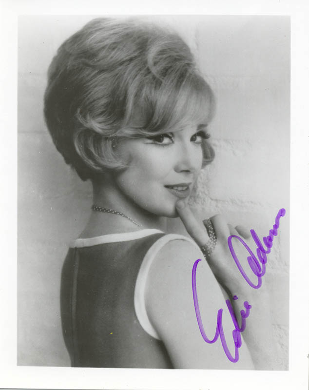 Image 1 for Edie Adams - Autographed Signed Photograph - HFSID 75482