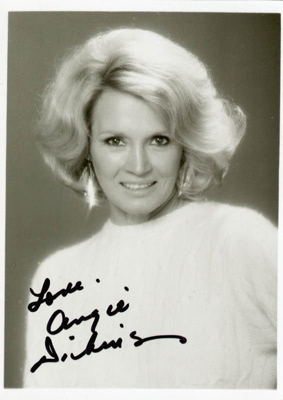 Image 1 for Angie Dickinson - Autographed Signed Photograph - HFSID 75494