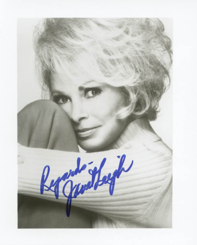 Image 1 for Janet Leigh - Autographed Signed Photograph - HFSID 75541