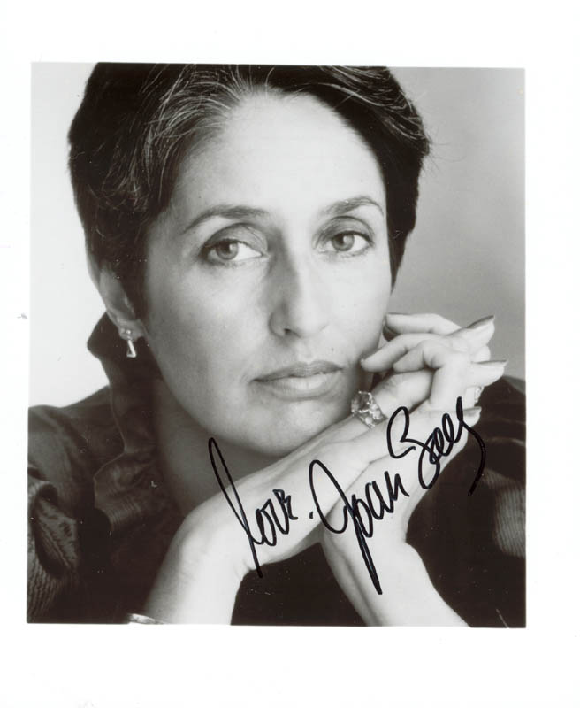Image 1 for Joan Baez - Autographed Signed Photograph - HFSID 75542