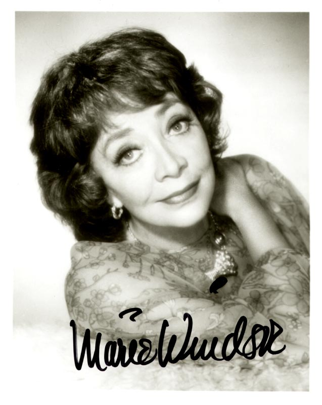 Image 1 for Marie Windsor - Autographed Signed Photograph - HFSID 75553