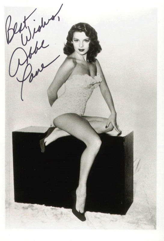 Image 1 for Abbe Lane - Autographed Signed Photograph - HFSID 75675
