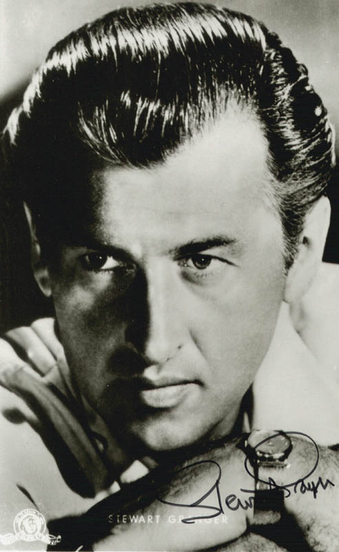 Image 1 for Stewart Granger - Autographed Signed Photograph - HFSID 75744