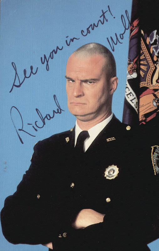 Image 1 for Richard Moll - Autographed Signed Photograph - HFSID 75761