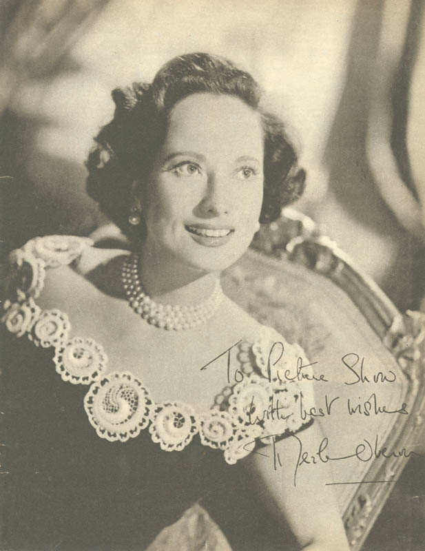 Image 1 for Merle Oberon - Inscribed Magazine Photo Signed - HFSID 76273