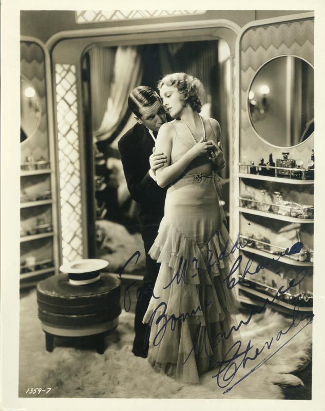 Image 1 for Maurice Chevalier - Autographed Inscribed Photograph - HFSID 76447